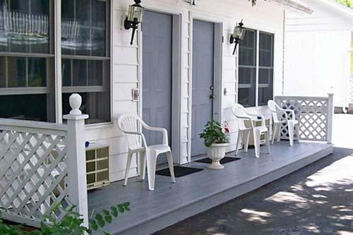 Motel Room Entrances and Porches